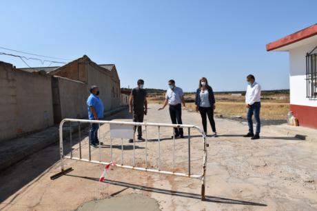 Junta y la Diputación han destinado alrededor de 170.000 euros en inversiones y ayudas en Castillejo de Iniesta