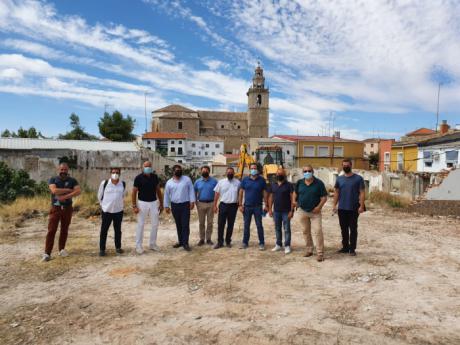 Comienzas las obras de la residencia de mayores ´Arco de la Malena´ con una inversión de 5 millones de euros