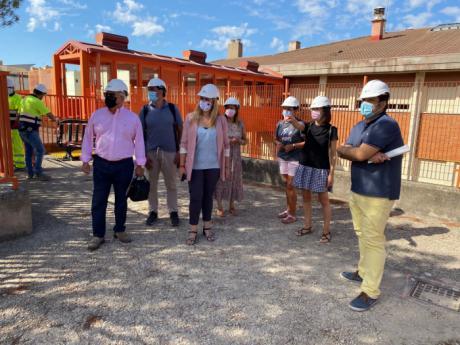 Se acometen obras de mejora en el colegio de San Fernando por importe de 130.000 euros