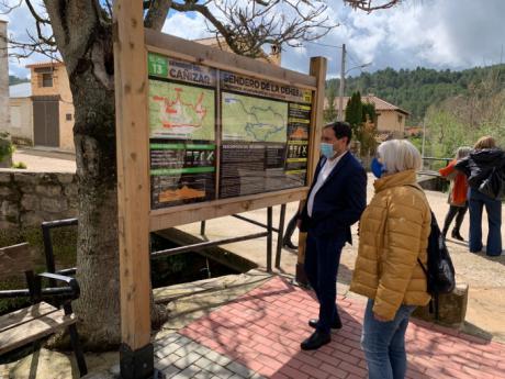 La Diputación colaborará con el Ayuntamiento de Fuertescusa en una ampliación de la vía ferrata