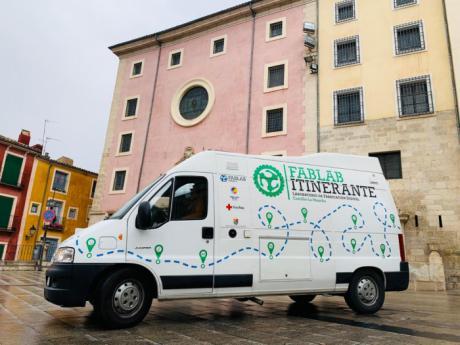 La Diputación se une como colaborador al proyecto FabLab Itinerante junto a Cruz Roja y la Embajada de EE.UU