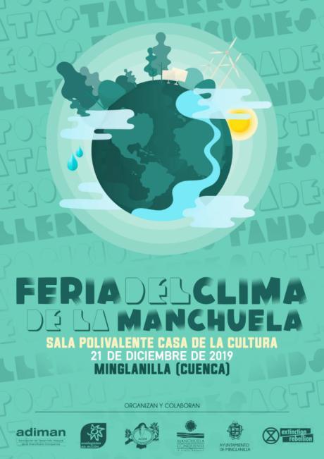 Adiman, Ecologistas en Acción y el Ayuntamiento de Minglanilla organizan la Feria del Clima de la Manchuela