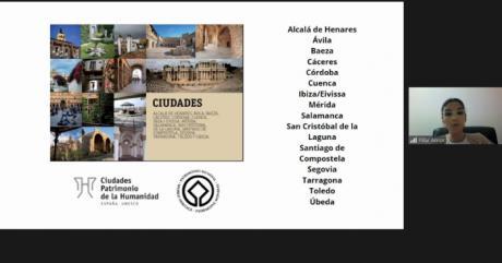 El Grupo de Ciudades Patrimonio apuesta por la combinación de patrimonio y naturaleza en el Festival de Experiencias de Ecoturismo
