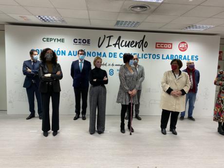 CEOE CEPYME Cuenca celebra que se siga firmando el acuerdo sobre solución autónoma de conflictos laborales