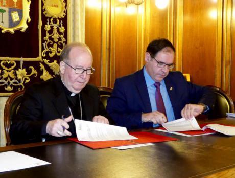 Diputación y Obispado mejorarán este año cerca de medio centenar de edificios religiosos de la provincia