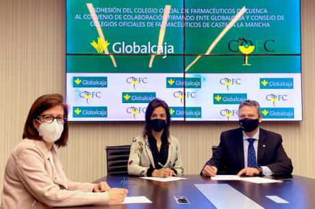 Globalcaja revalida su apoyo a los farmacéuticos colegiados de Cuenca