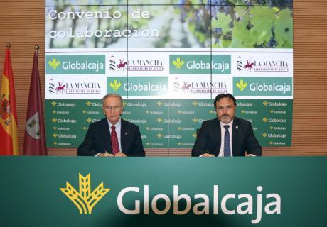 Globalcaja y el Consejo Regulador estrenan el 2021 con el refuerzo de la promoción de los vinos DO La Mancha