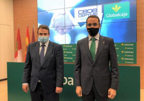 Globalcaja ratifica su compromiso con CEOE-CEPYME Cuenca para el impulso de la actividad empresarial