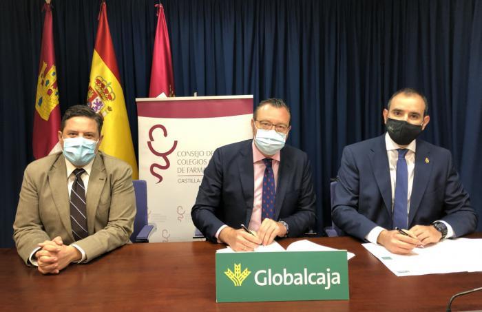 Globalcaja refuerza su apoyo al colectivo de farmacéuticos colegiados de Castilla-La Mancha