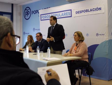 """Núñez: """"Si somos capaces de generar empleo en el mundo rural, comenzaremos a recorrer el camino para frenar la despoblación"""""""