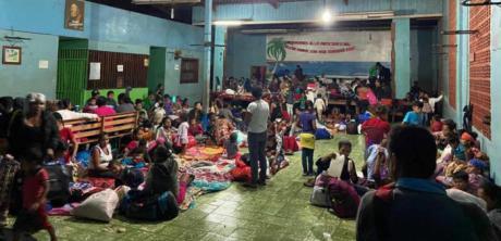 """Cáritas Cuenca apoya la respuesta humanitaria de las Cáritas centroamericanas a las víctimas del huracán """"Eta"""""""