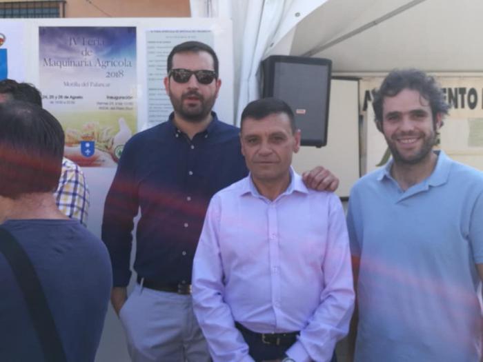 """Para IU,""""la Feria Agrícola de Motilla ha crecido exponencialmente tras la alcaldía de Jesús Martínez."""""""