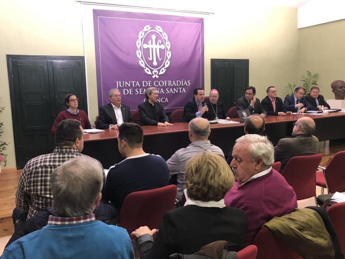 """Sánchez Albendea llama a los nazarenos a """"trabajar por el bien común"""" para engrandecer la Semana Santa"""