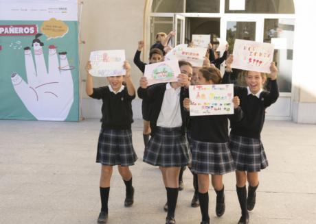 """Más de 800 estudiantes y 30 """"profes"""" de Cuenca impulsan ideas para fomentar un recreo inclusivo"""