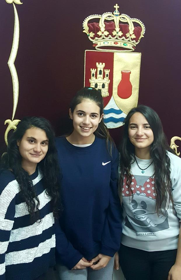 Lorena, Lucia y Miriam serán las damas de las fiestas de Enguídanos