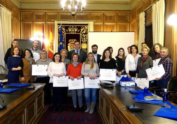 Clausurado en Diputación el programa de formación en marketing digital en el sector turístico