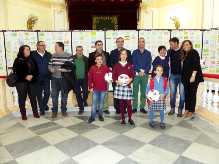 Entregados en Diputación los premios del VIII Concurso Regional de Dibujo de Fedefcam