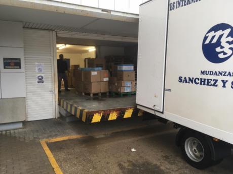 La Junta valora la importante contribución del reparto de nuevo material de protección para profesionales en las 4 Áreas Integradas de la provincia de Albacete y residencias