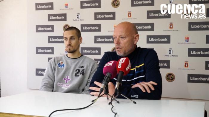Sala de Prensa EHF CUP| Magnus Andersson- [Liberbank Cuenca 26- 29 FC Porto Sofarma]
