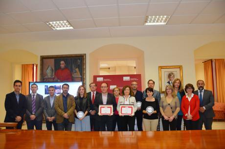 La UCLM entrega los premios del concurso Wendy Hall a la mejor web