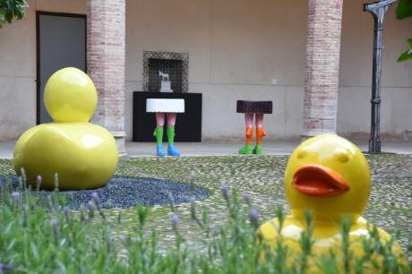 El conocido artista 'dEmo' cede 6 obras a la Junta que serán expuestas en el Centro de Arte Moderno y Contemporáneo de Castilla-La Mancha