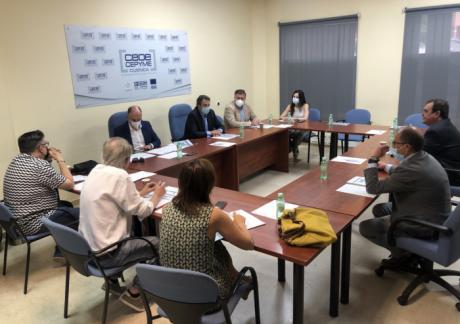 """Dolz se muestra dispuesto a estudiar el Plan de Movilidad de CEOE Cepyme Cuenca que califica de """"propuesta valiente"""""""