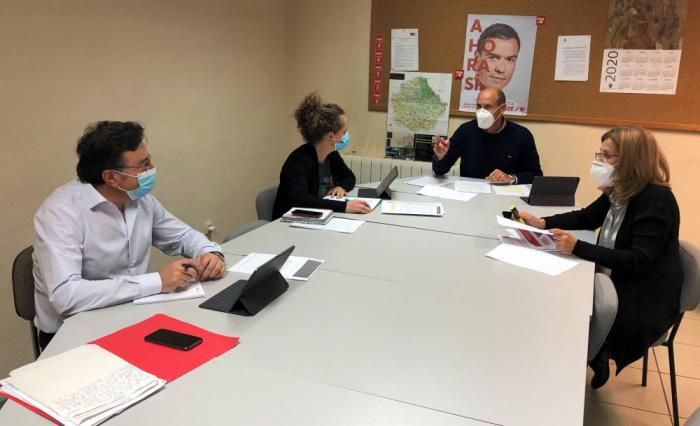 Los diputados y senadores del PSOE por Cuenca preguntan al Gobierno sobre las alternativas para la planta de Siemens Gamesa