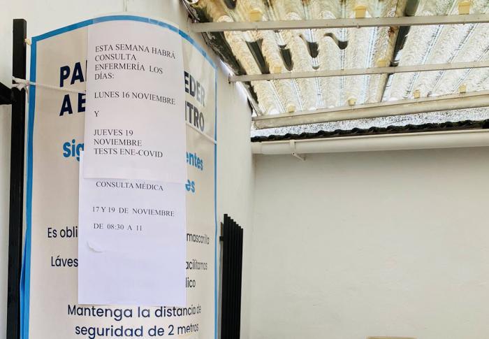 El PP afirma que el Sescam reduce a dos días a la semana la consulta médica en Fuentelespino de Haro
