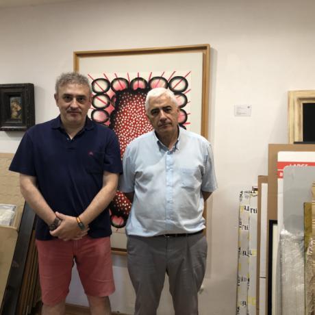 """Vox Cuenca se interesa por la situación actual de la Fundación """"Antonio Saura"""""""