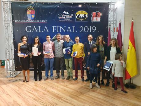 Diputación lleva a cabo la Gala Final del Deporte y cierra los circuitos provinciales con 17.347 participantes