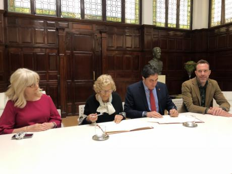 Las Ciudades Patrimonio de la Humanidad renuevan su alianza turística con Madrid
