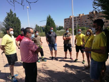 IU pide al Gobierno regional que no precarice las condiciones laborales de los bomberos forestales