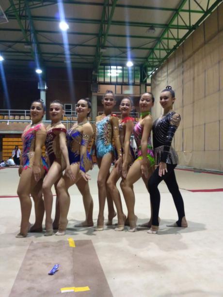 Ocho gimnastas del CD Huécar obtienen el pase al campeonato nacional base