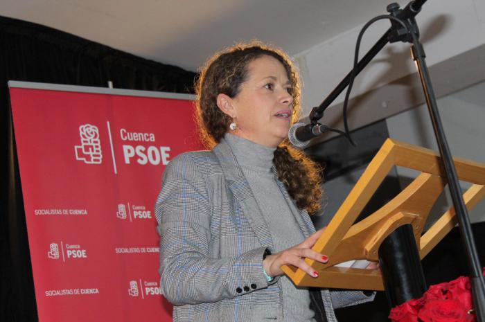 """Gracia Canales: """"El PSOE está trabajando por desbloquear España"""""""