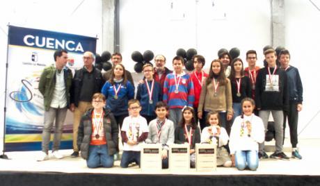 El Provencio albergó el Campeonato Provincial de Ajedrez en Edad Escolar con una participación de unos 70 jóvenes