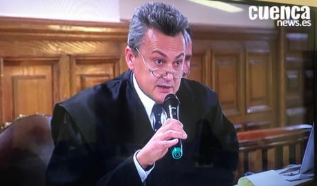 En imagen el letrado José Javier Gómez Cavero,abogado defensor de Sergio Morate