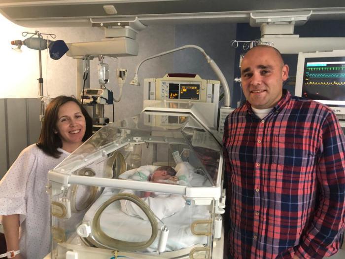 El primer bebé de 2020 en Castilla-La Mancha se llama Gonzalo y ha nacido en el Hospital General Mancha Centro