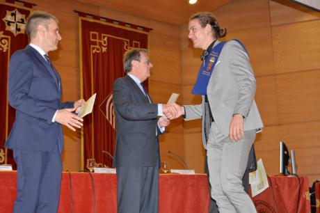 El rector de la UCLM subraya la excelencia académica y científica de la Facultad de Químicas durante el acto de graduación