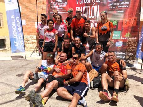 José Luis del Campo y María Jesús Algarra se llevaron en Santa Cruz de Moya la VII Marcha Trail Fuentes del Turia