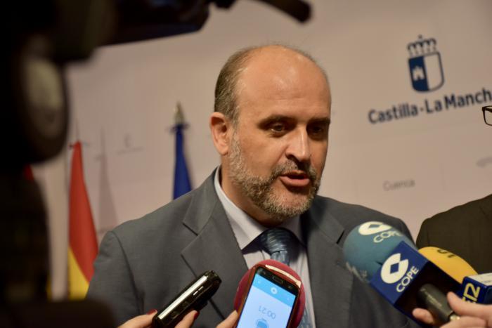 José Luis Martínez Guijarro, vicepresidente primero del Gobierno de Castilla-La Mancha