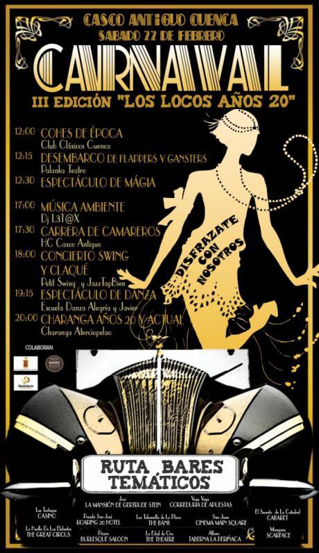 Los años 20 llegan al Casco Antiguo este fin de semana