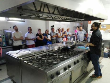 HC Hostelería y CEOE CEPYME Cuenca realizan un curso de cocina creativa