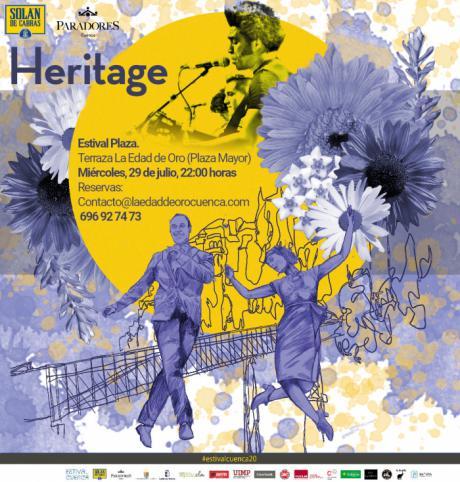 Se pospone el concierto de Heritage al miércoles 29 de julio