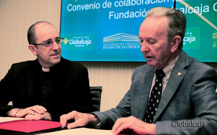 La Fundación Globalcaja renueva su acuerdo con la Catedral para la Academia de Órgano