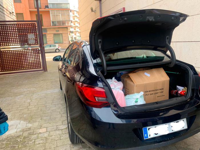 Los conductores del parque móvil de la Junta en Cuenca han realizado más de 170 servicios especiales en la lucha contra el coronavirus