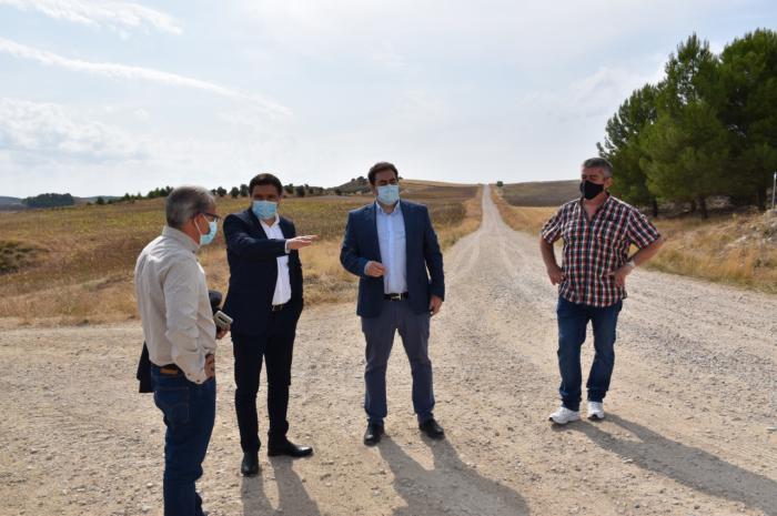 Se invertían más de 340.000 euros para acondicionar el camino que une Huete y Mazarulleque