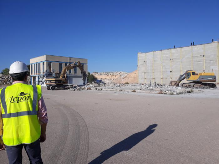 ICPOR inicia los trabajos para la futura planta de piensos de Montalbo