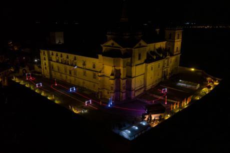 Iberian Drone League vuela sobre el Monasterio de Uclés
