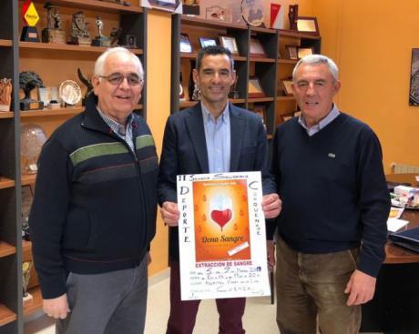 El Instituto Municipal de Deportes y la Hermandad de Donantes animan a los deportistas a donar sangre