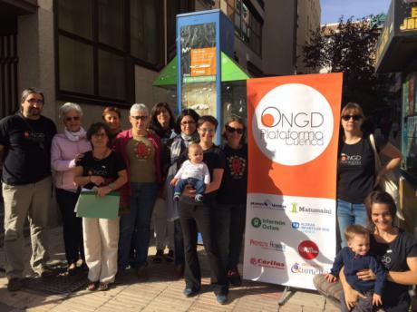 La Plataforma de ONGD de Cuenca denuncia el incremento de la desigualdad en el Día Internacional para la Erradicación de la Pobreza
